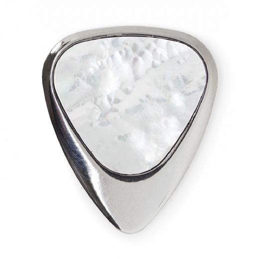 Inlay Tones White Mother of Pearl 1 Guitar Pick